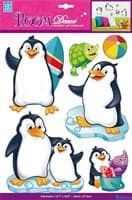 Элемент декоративный ROOM DECOR Пингвины объемные PSA 6803
