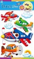 Элемент декоративный ROOM DECOR Самолетики с глазками №2 POA 1073