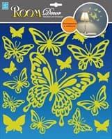 Элемент декоративный ROOM DECOR Светящие бабочки RDA 8302