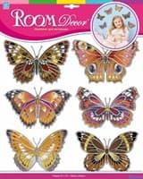 Элемент декоративный ROOM DECOR Шелковые бабочки №3 HPA 4405