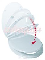 Сиденье для унитаза полипропилен микролифт 20719135/20718747