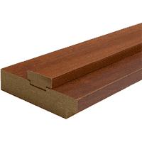 Коробка ОМИС дверная с пазами (состоит из стойки-2,5шт) 2024*70*28 орех
