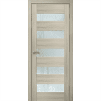 Полотно ОМИС дверное Форте ПО Лиана (пленка ПВХ) 600*2000*34 дуб беленый