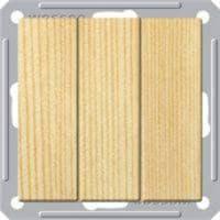 Выключатель WESSEN W59 VS0516-351-7-86 скр.уст. 3-кл б/рамки (250В,16А)