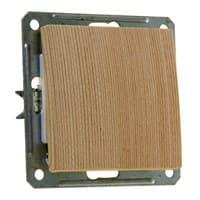 Выключатель WESSEN W59 VS116-154-7-86 скр,уст. 1-кл б/рамки (250В,16А)